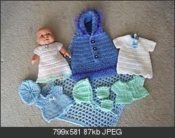 Oui Crochet: Doll Clothes {Free Crochet Pattern} | 199x252