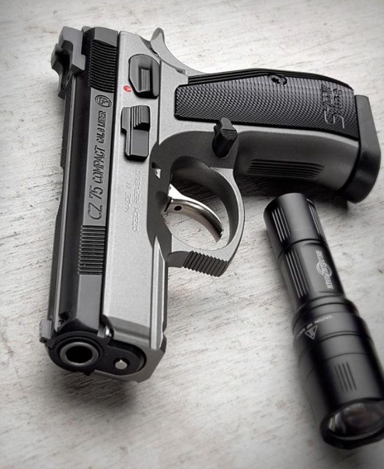 CZ 75 compact | Guns & Ammo | Hand guns, Guns, Guns, ammo