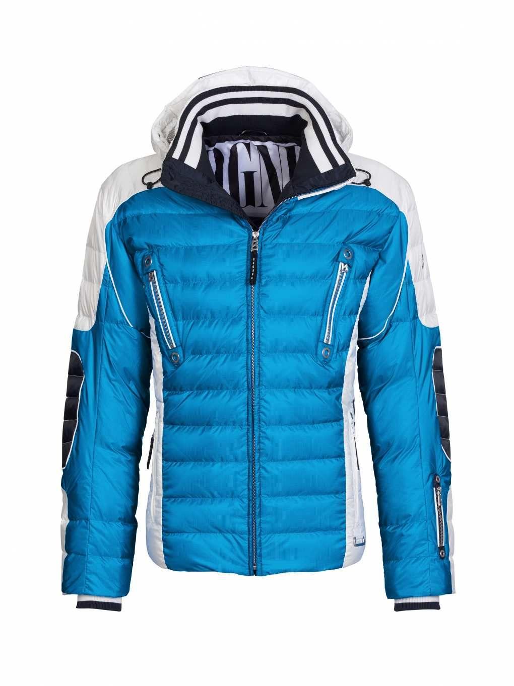 daunen skijacke ruven in blau f r herren bogner com ski jackets rh pinterest com