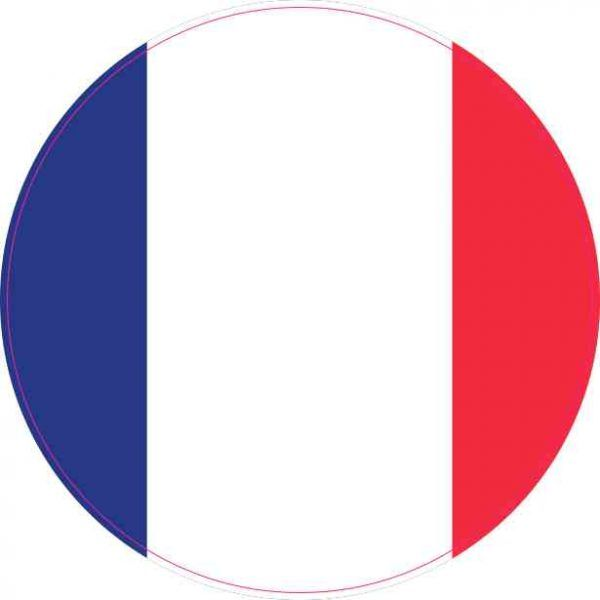 4x4 round france flag sticker vinyl vehicle decal travel hobby stickers stickertalk