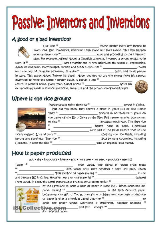 Best Esl Past Simple Passive Worksheets Image Collection