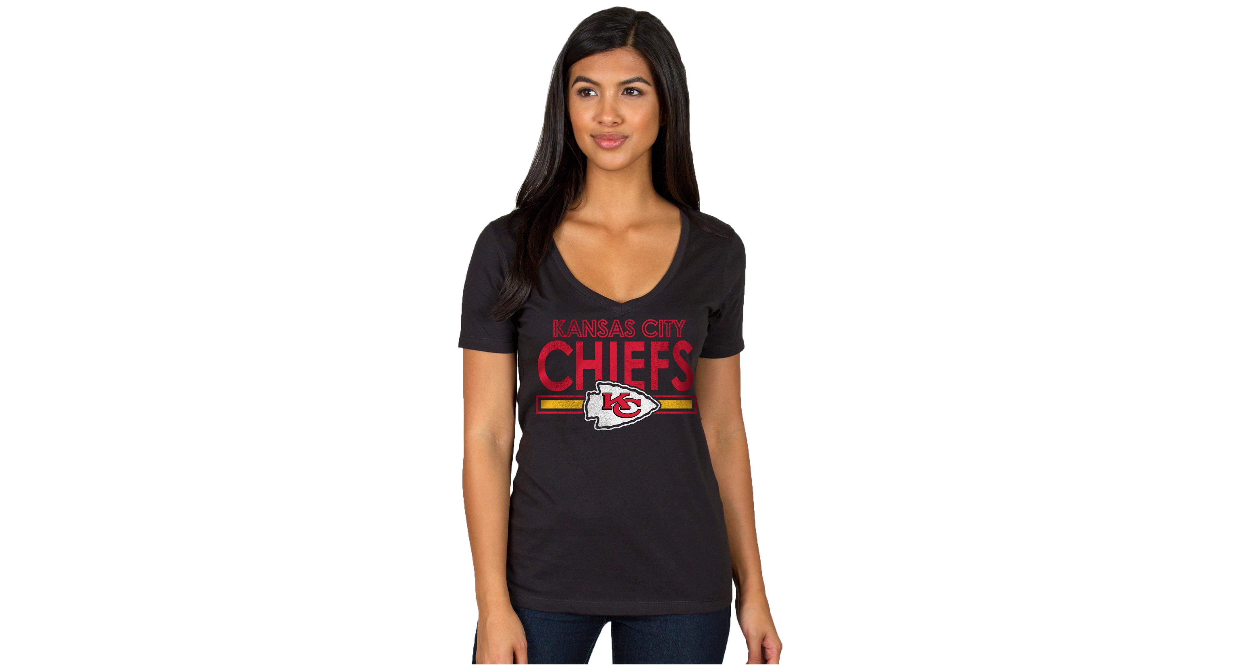 Authentic Nfl Apparel Women's Kansas City Chiefs End Zone