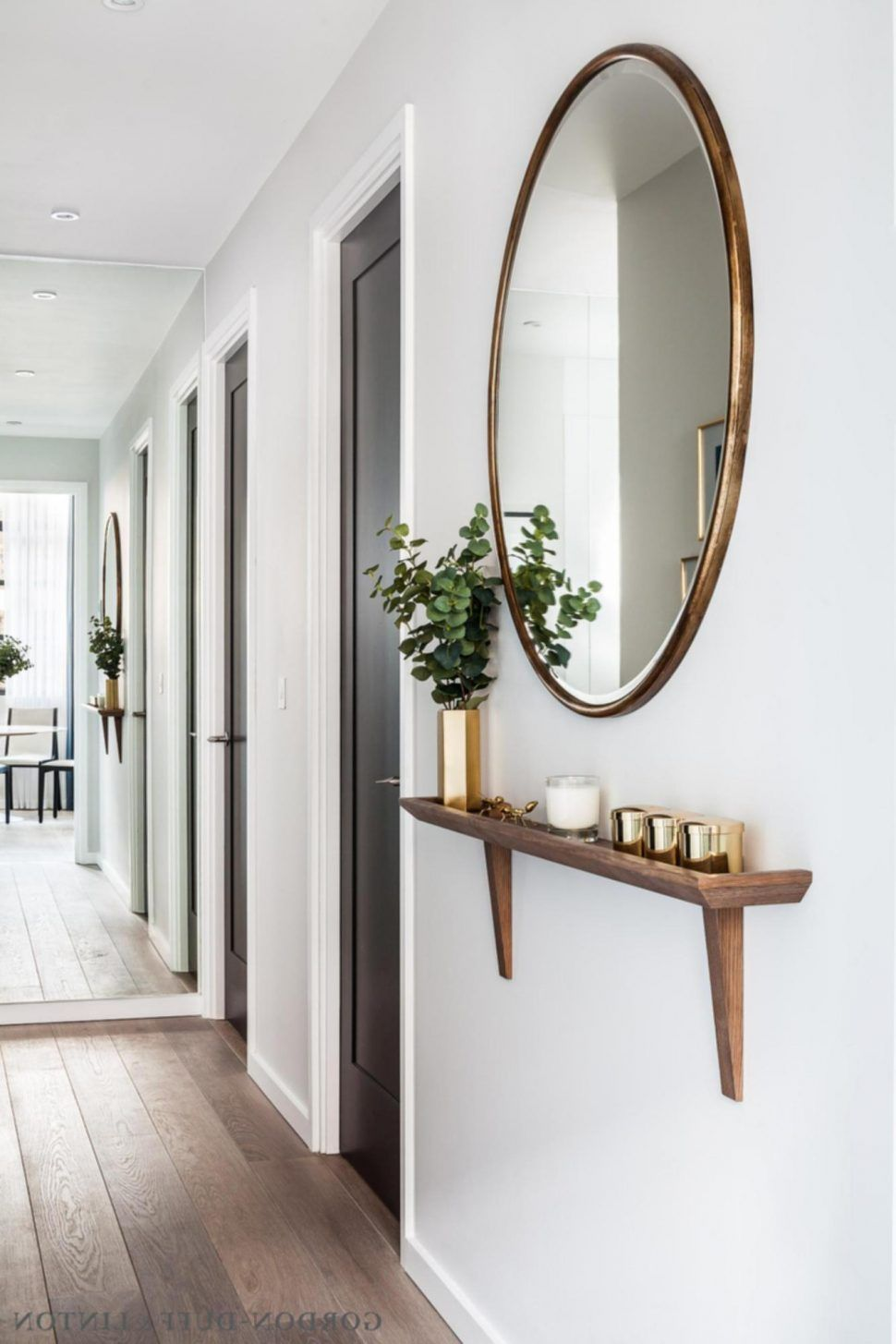 Interior Entryway Mirror Ideas Bench With Modern Hooks Splendid Brown Coat Table And Target Espresso Diy Small Apartment Small Apartment Decorating Home Decor