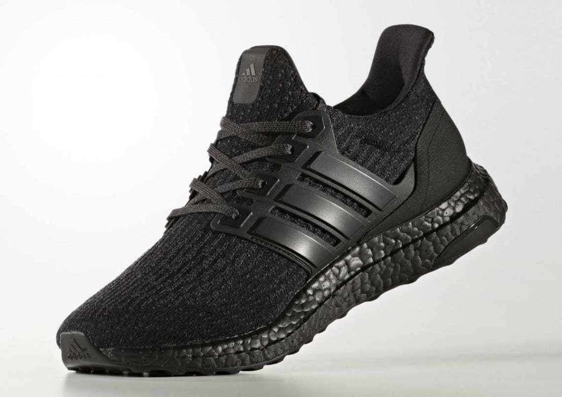 Adidas Ultra Boost 3 0 Triple Black Will Release This Month Adidas Ultra Boost Shoes Boost Shoes Adidas Ultra Boost Men