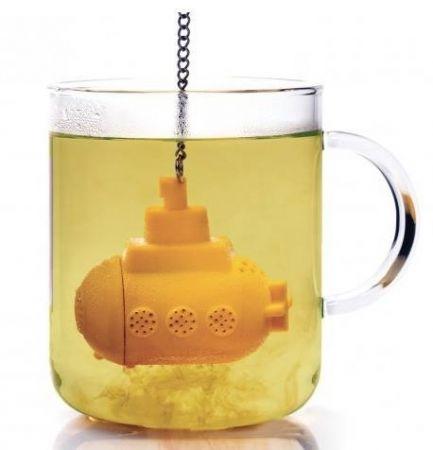 Pro chá da tarde: Infusor Yellow Submarine ♥