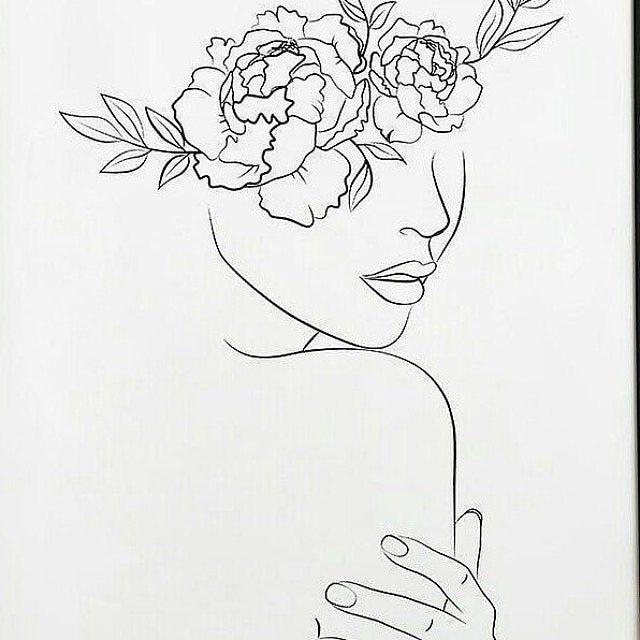 Line drawing print. nude print  line art woman. minimalist | Etsy