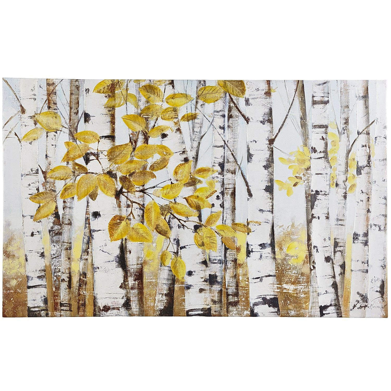Stand of Birch Trees Art | Pier 1 Imports | Art and DIY | Pinterest ...