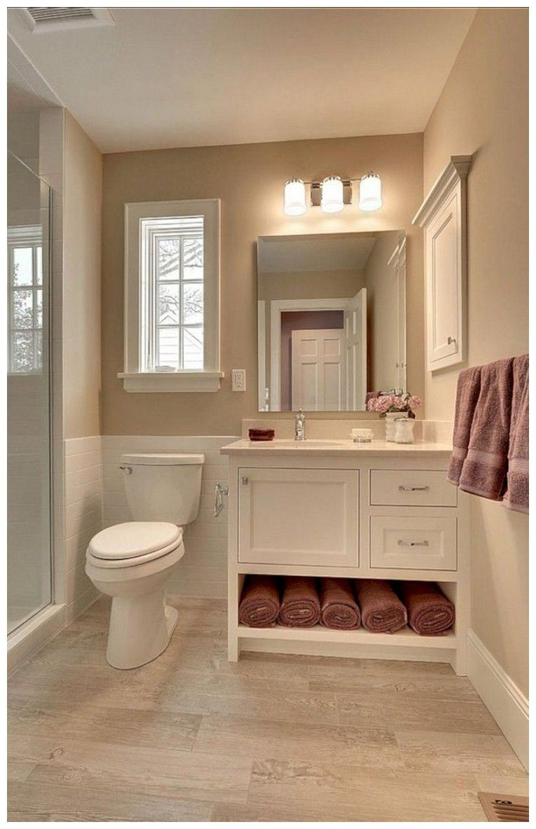 44 Tips And Ideas How To Make A Small Bathroom Look Bigger 34