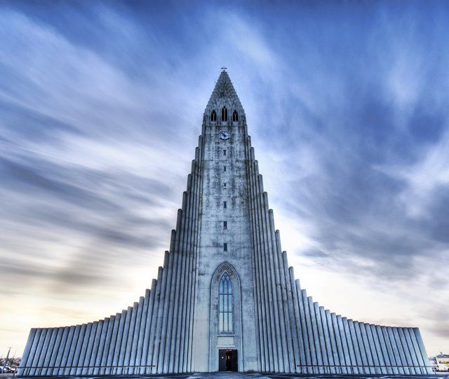 ICELAND!  The Church of Hallgrimur, Reykjavik, Iceland