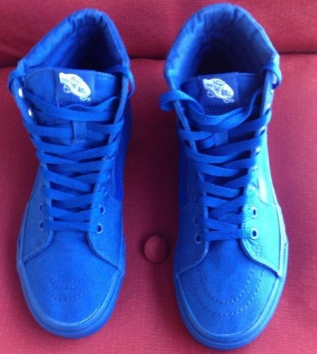 Vans Old School High Top Shoes Size 7  & 8 Mens Blue Mismatch Size https://t.co/mlUn1eXeqd https://t.co/4u5eWgYlv0