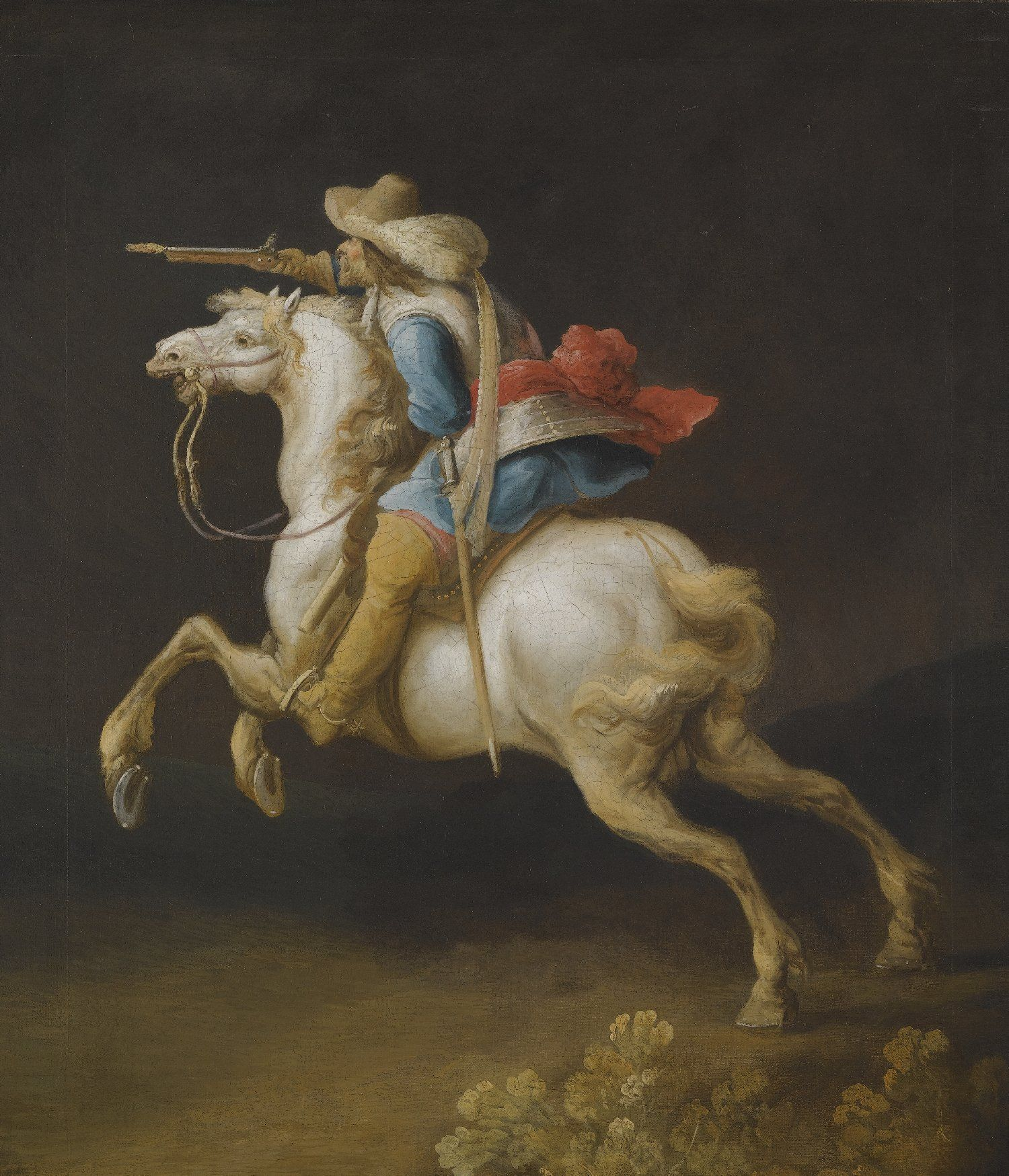 A French Cavalryman Thirty Years War