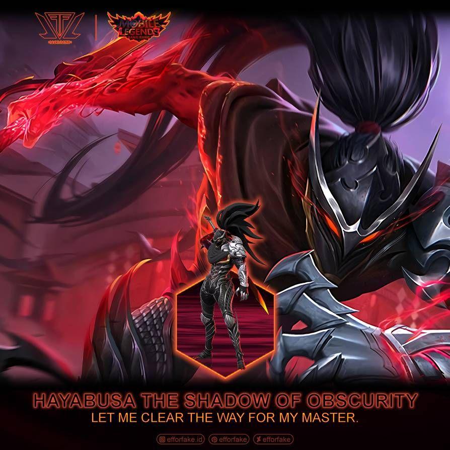 Hayabusa Shadow Of Obscurity Mobile Legends By Efforfake On Deviantart In 2020 Mobile Legend Wallpaper Mobile Legends Alucard Mobile Legends