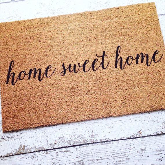 RV Doormat Christmas Gift Front Door Mat Welcome Mat Camper Door Mat Welcome Mat Home Sweet Home Doormat Welcome Door Mat