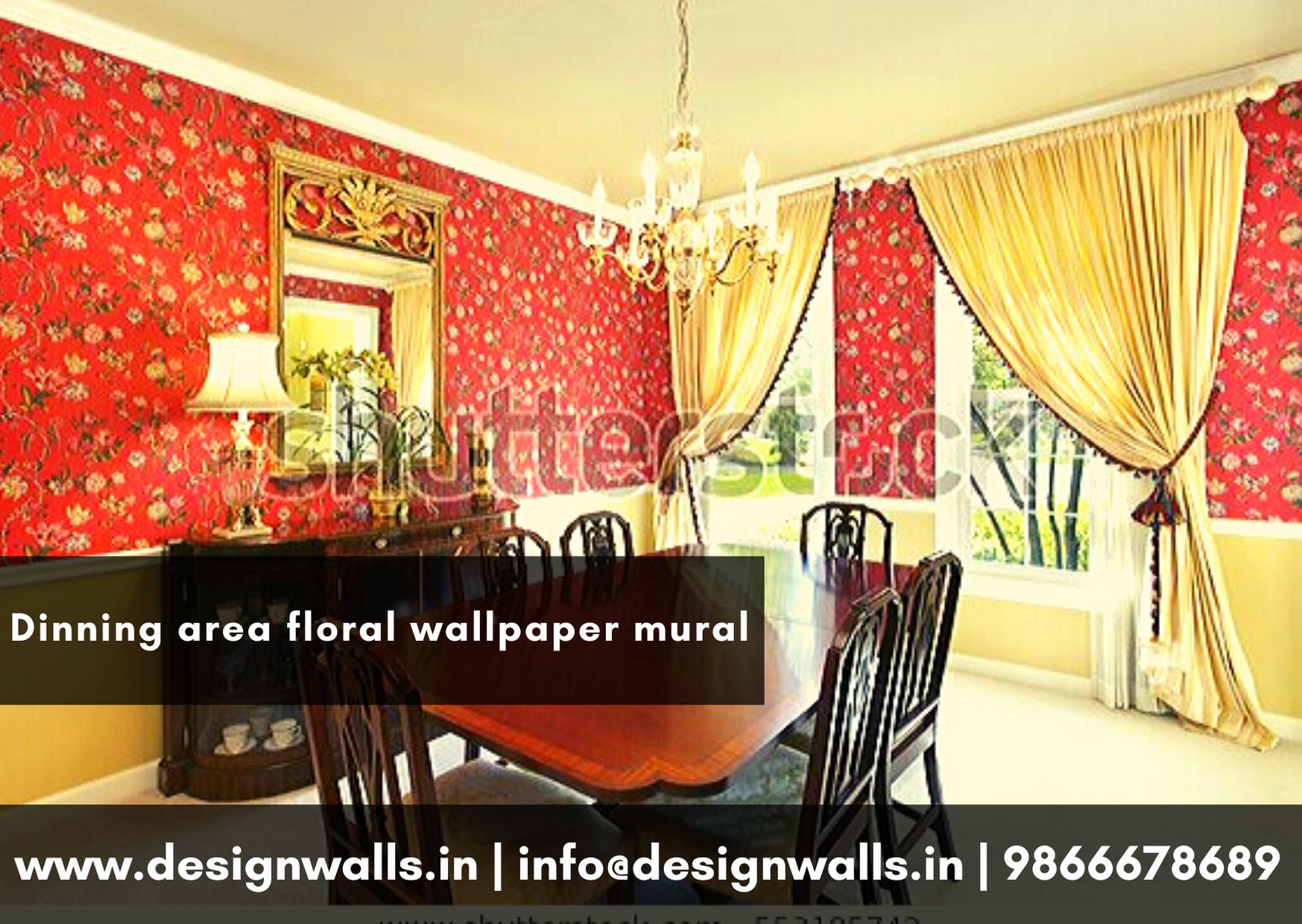 Design Walls The Wallpaper Company Floral Big Flower Wallp