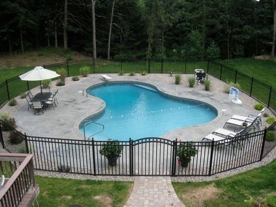 Pool Gallery | Lagoon Shaped Inground Pools | Western MA ...