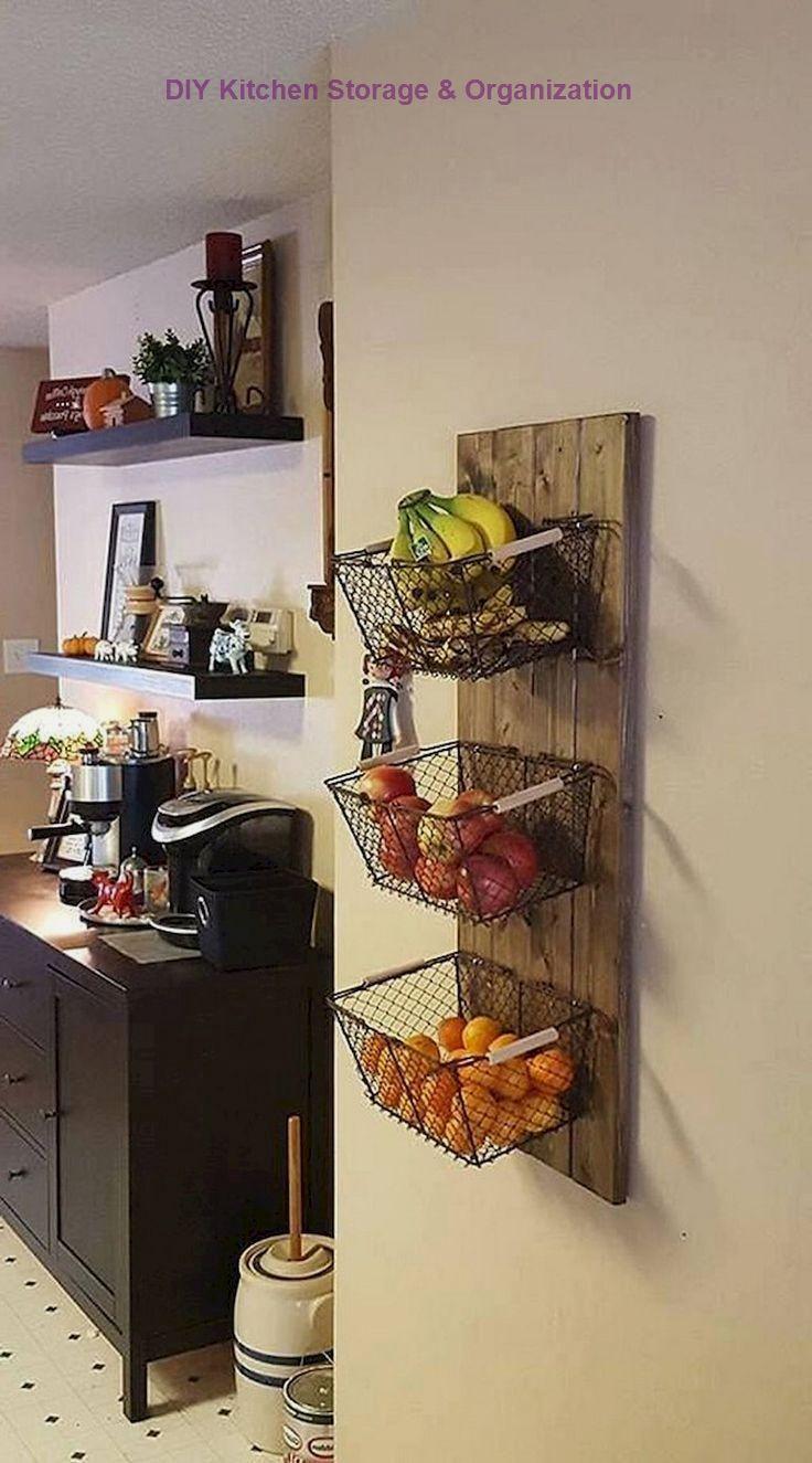 13 DIY Ideas for Kitchen Storage