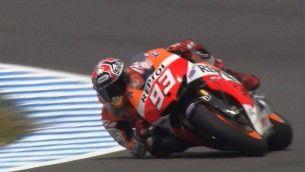 Márquez mais rápido no teste de Jerez
