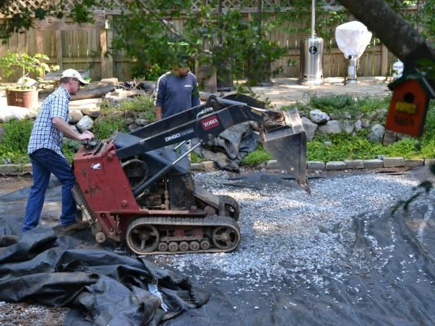 Landscape Fabric Is Most Useful Under Gravel Or Mulch Walkways To