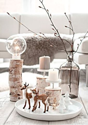 Kerst op tafel: versier je huis - Woonkamer inspiratie | Pinterest ...