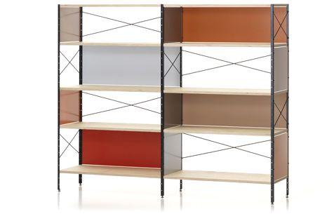 Eames ESU Shelf 4HU Eames storage unit, Interior design