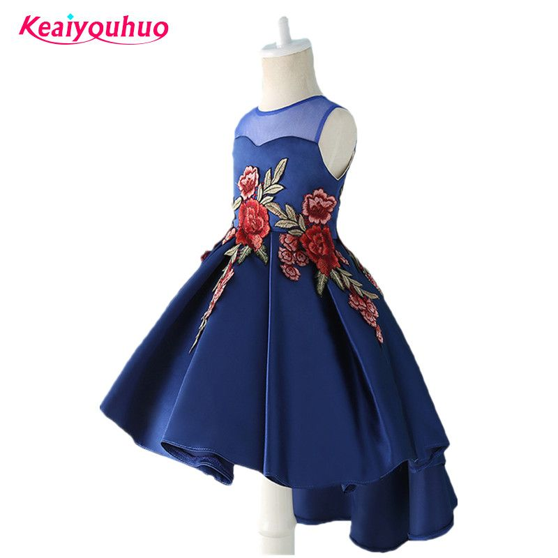 9eb0e78c4 Cheap 10 year girl, Buy Quality girl party dress directly from China children  clothing Suppliers: 2018 Girl Party Dresses Long Tail baby Girls clothes ...