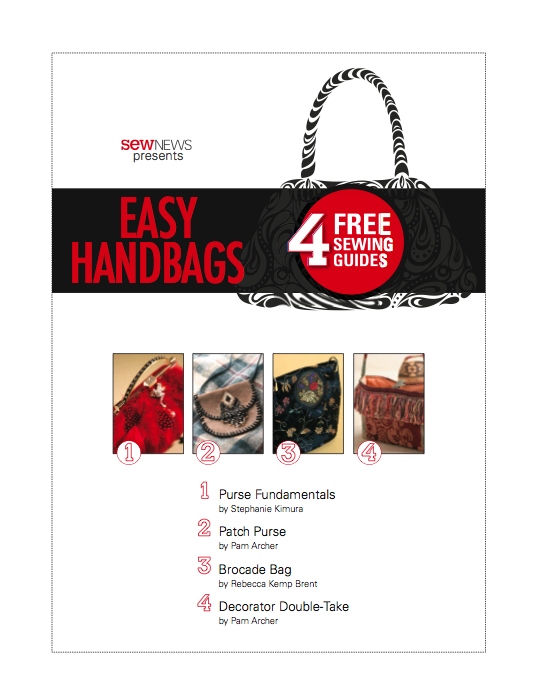 Get free purse patterns with the Easy Handbags eBook from Sew News ...