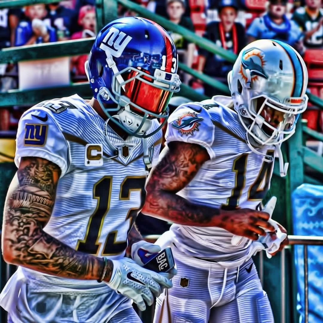 Obj Jarvislandry Jeremyhill On Instagram By Bacgraphics Odellbeckhamjr Jarvislandry Obj Juice Pro Nfl Football Players Football Nfl Football Wallpaper