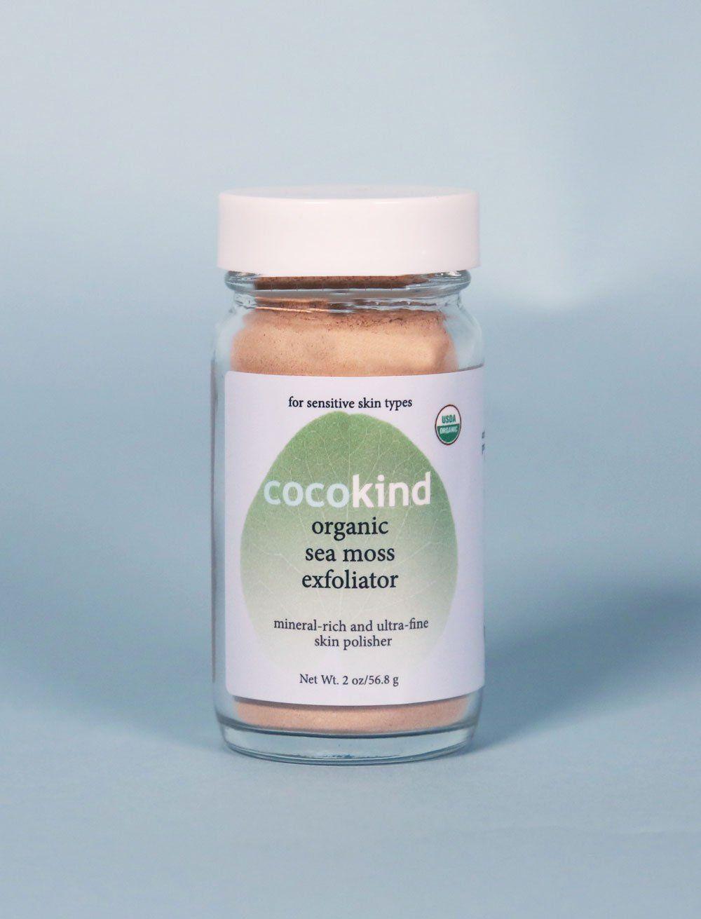 Sea moss exfoliator Coconut oil moisturizer, Coconut oil