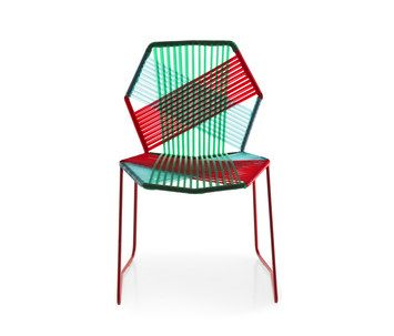 Tropicalia from Moroso at Interior Design productFIND: The tubular steel frame of Antibodi becomes the starting point which the ...