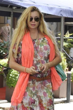 Esther Cañadas, irreconocible con sus kilos de más