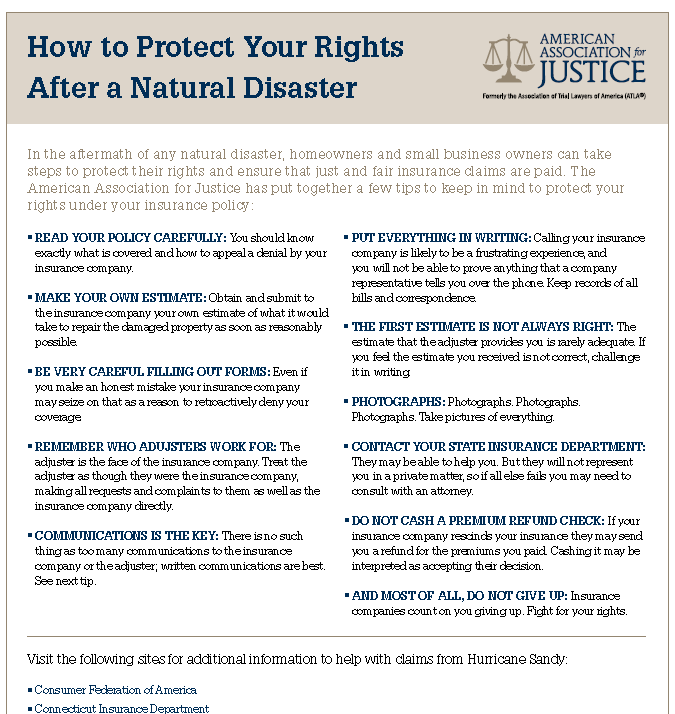 How To Protect Your Rights After Snowstorm Property Damage How