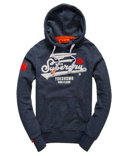 Superdry High Flyers Hoodie | Superdry | Hoodies, Mens