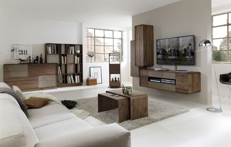 Hartmann BO solid wood furniture model series - living combination ...