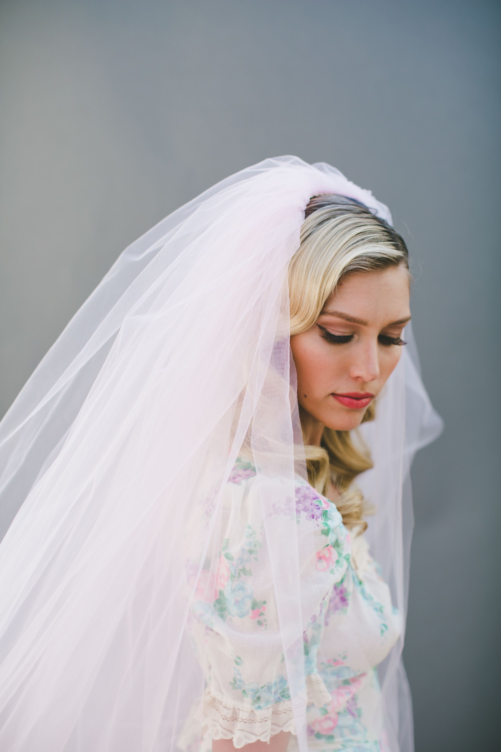 Look - Vintage Exclusive veil for beautiful bridals video