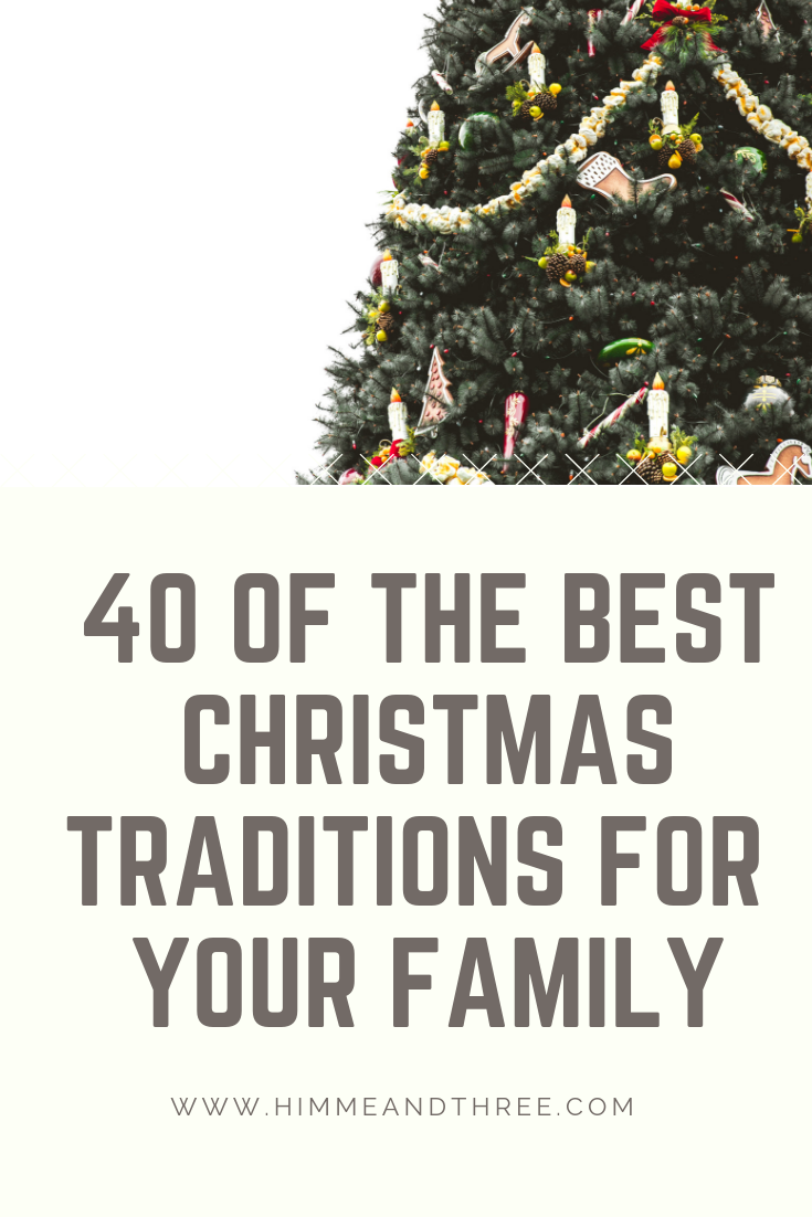 40 Christmas Traditions To Start With Your Kids This Year Christmas Traditions Christmas Traditions Kids Traditions To Start