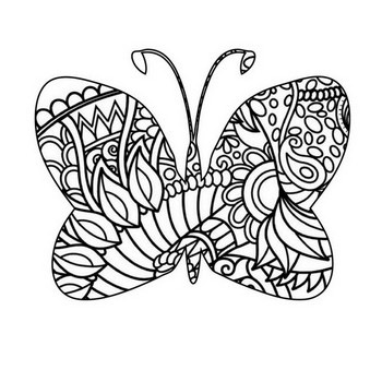 61 Animal Mandala Coloring Pages Most Popular Fun Mandalas Butterfly Mandala Coloring Pages Butterfly Coloring Page