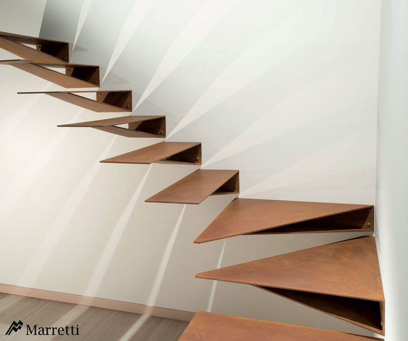 Suspended Style 32 Floating Staircase Ideas For The: MARRETTI Spiral Staircase Spiral Stairs And Banisters