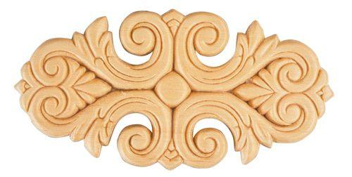 Arabesques De Bois   D190   Bois Blanc   Moulures Décorative Boulanger