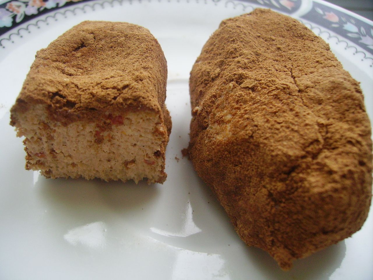 пирожное картошка с творогом