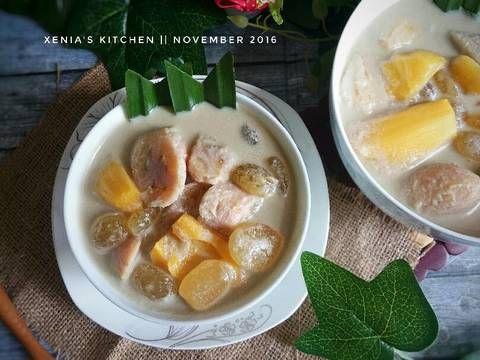 Resep Kolak Pisang Nangka Kolang Kaling Oleh Retno Nia Sari Xenia S Kitchen Recipe Traditional Cakes Nangka Food