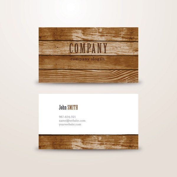 Wooden background business card vector graphic business card wooden background business card vector graphic business card template branding woodcut reheart Choice Image