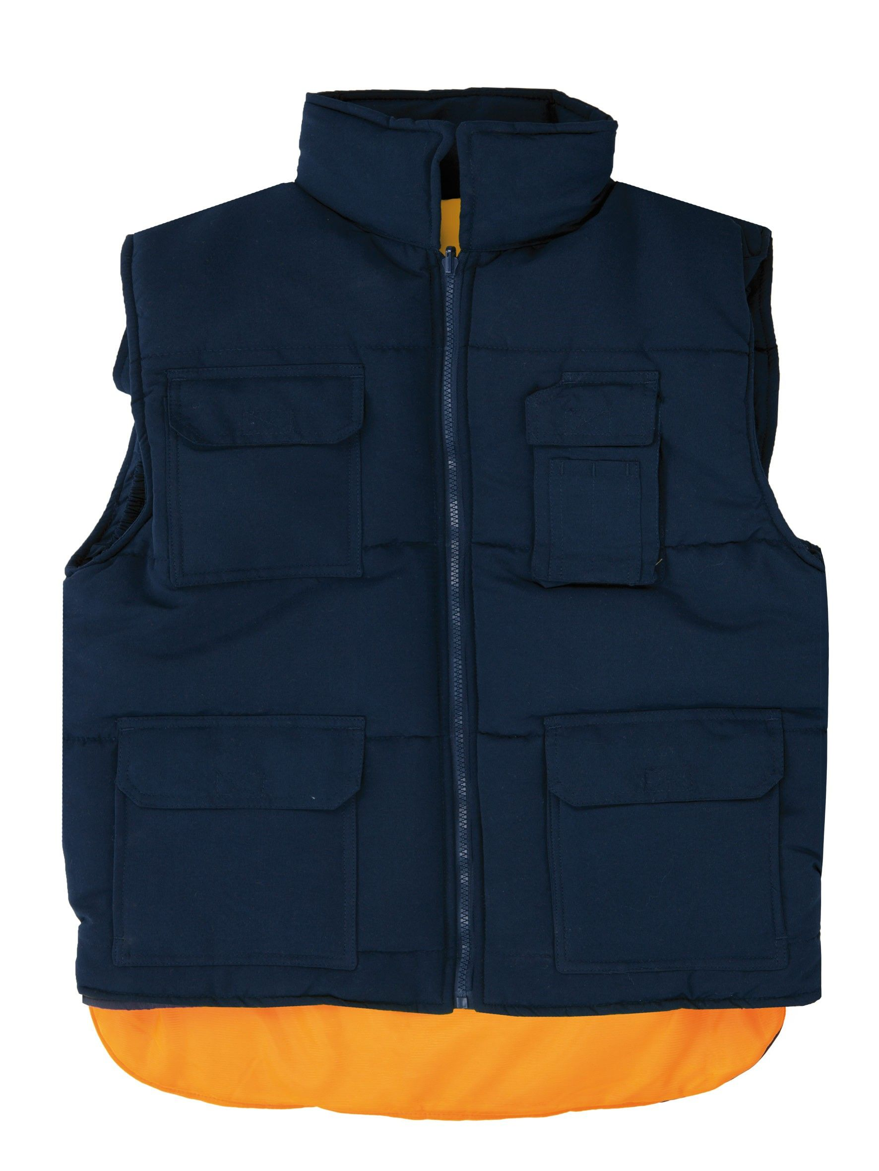 mil millones Facilitar brecha  Chaleco acolchado Azul Marino y Naranja. | Fashion, Jackets, The north face