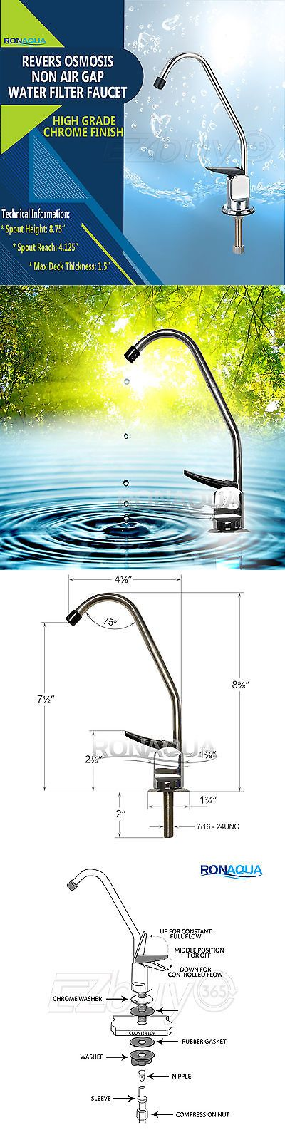 Faucets 42024 Ro Reverse Osmosis Kitchen Sink Water