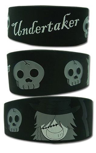 Wristband - Black Butler - New Undertaker Toys PVC Bracelet Gifts ge54023