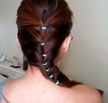 coleta trenzada | peinados | pinterest | coleta, peinados y animales