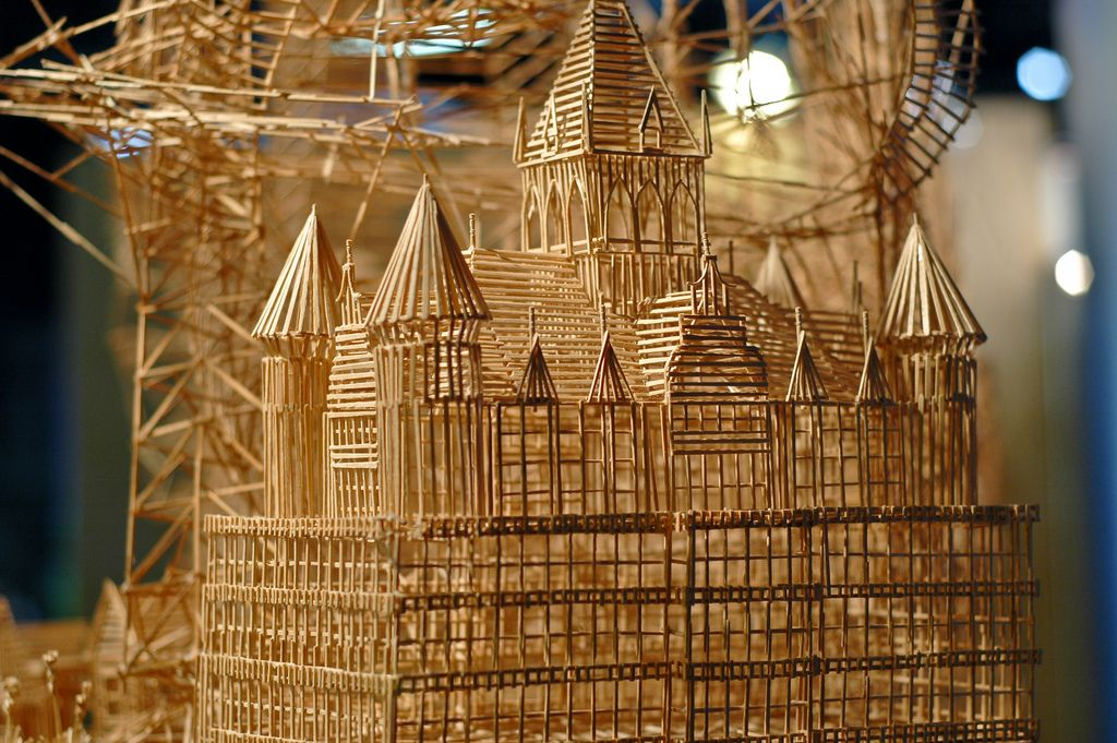 One man, 100,000 toothpicks, and 35 years: Rolling through the Bay by Scott Weaver