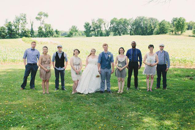 Casual Wedding Party Attire | Wedding | Pinterest | Casual wedding ...
