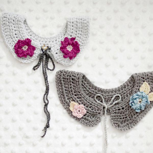 Cuello patrón de ganchillo por Crochet Latte | Mollie Makes | Cosas ...