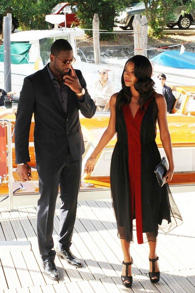 Dwyane Wade  Gabrielle Union Visit The Venice Film -8453