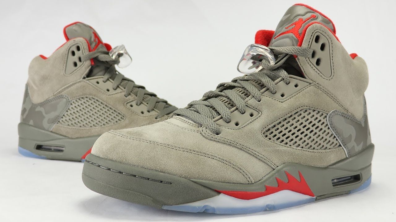 detailed look a3f14 928df Air Jordan 5 Camo Review + On Feet Feels 22 Sneakers... The Air